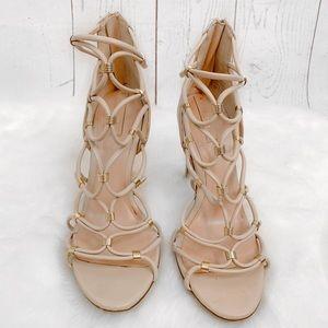 Aldo • Nude Strappy Heels